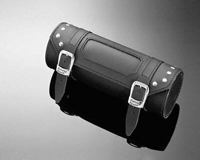 Tool roll / tool bag Sturgis rivetted, black for motorcycle, chopper