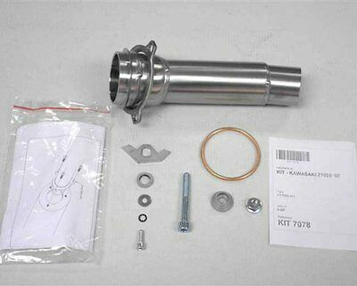 Adapter pipe exhaust IXIL for Z 1000, 07-09, right side, elbow