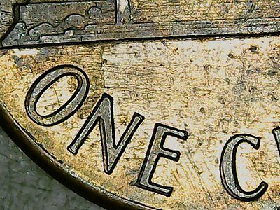 """1988 Double """"One Cent"""", Lincoln  Cent, EF."""
