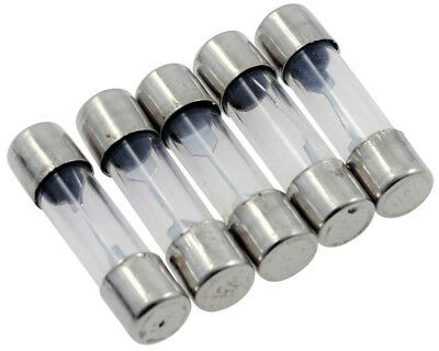 Glass Fuse 25mm (15 Amp), 5-pack