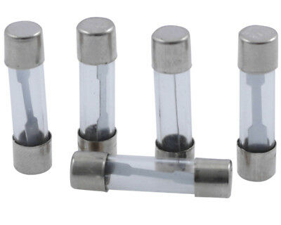 Glass Fuse 25mm (30 Amp), 5-pack
