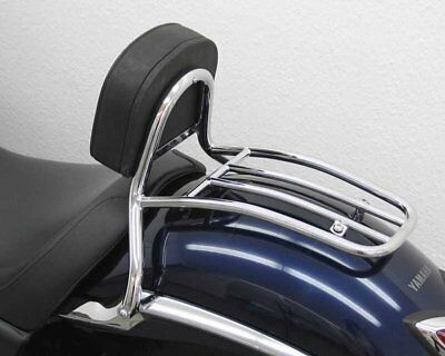 Sissy Bar with pad and carrier driver Yamaha XVS 950 A Midnight Star 09-