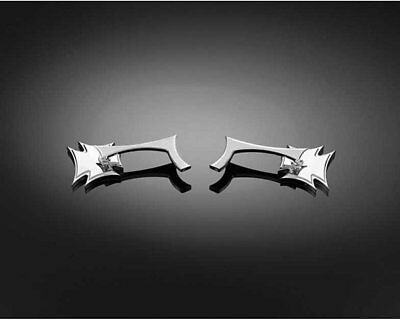 Mirror Set Gothic chrome from Highway Hawk Motorcycle, Chopper