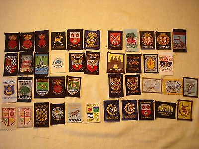 Hampshire County and District Scout Badge Collection
