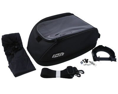Tankbag ION two, Quick-Lock, 600D polyester. Black. 13-20 l.