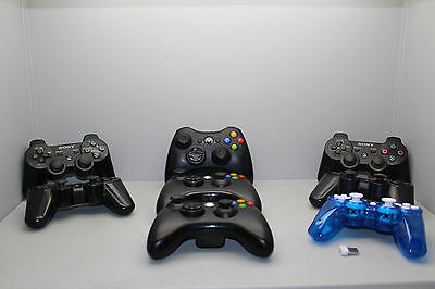 Job lot of various Genuine Xbox 360 & playstation 3 controllers - FREE P & P