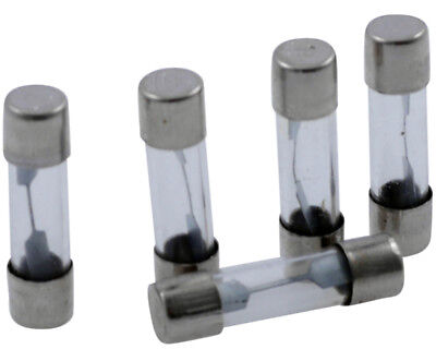 Glass Fuse 25mm (10 Amp), 5-pack