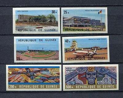 s12280) GUINEA GUINEE 1965 MNH** Nuovi** 1965, Indipendence 6v IMPERFORATED