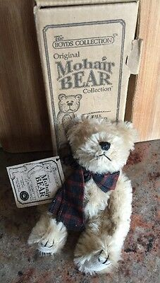 Limited Edition Vintage 10 Inch Boyd's Bear Mohair with Original Box 590080-03
