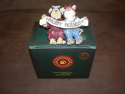 Longaberger Boyd's Bear Exclusive Glory & Starbeary Basket Sitter - NIB