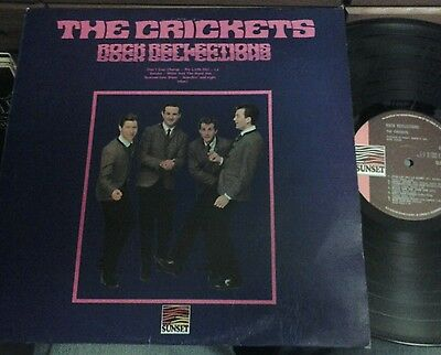 The Crickets/Rock Reflections.UK Sunset LP.