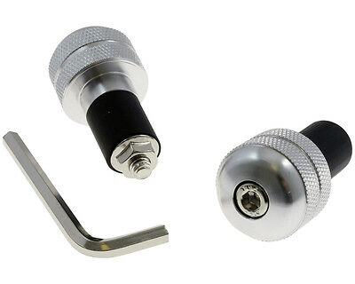 Barend-weight, aluminum / silver, knurled for Ducati Monster S4R M4 Bj. 2004