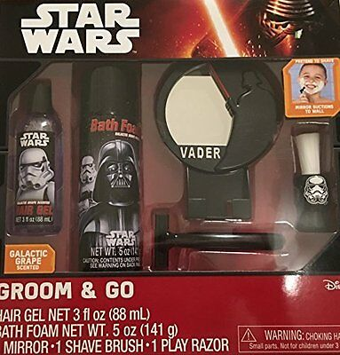 Star Wars Boys Learning Groom & Go Set by Disney Christmas Present Gift