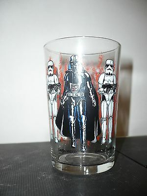 Verre à moutarde Star Wars 1983 - N°1 - vintage glass Dark Vador garde impériale