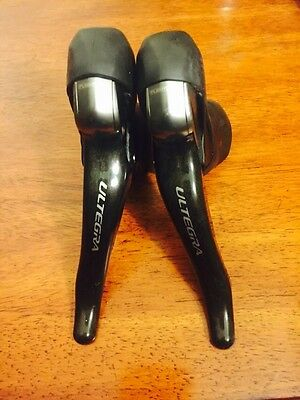 Shimano Ultegra 6700 10 Speed Shifters Excellent