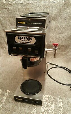 Commercial BUNN 3 burner automatic COFFEE maker Brewer refurb STF-15  NSF tap