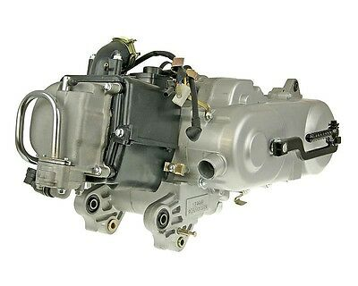 Engine complete 50cc GY6 China 4-stroke 139QMA (with SLS) - Baotian-BT49QT-6B1