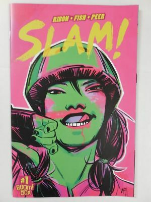 ROLLAR DERBY GIRLS Comic Book SLAM # 1 ~ RARE! 1ST PRINT SOLD OUT NM/UNREAD