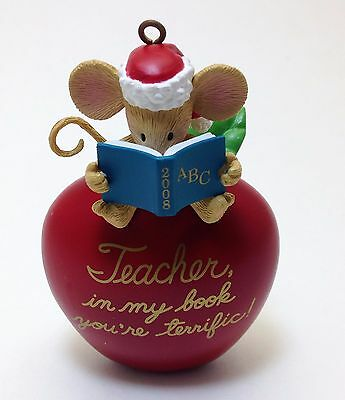 Christmas Tree Ornament for the Teacher in My Book Your Terrific !