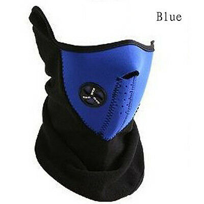 Super Warm Neoprene Cycling Face Mask With Breathing Ventilator -Brand New Blue