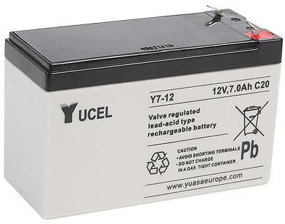 Batteries - Rechargeable - BATTERY LEAD ACID 12V 7AH