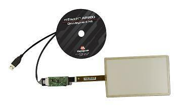 MCU/MPU/DSC/DSP/FPGA Development Kits - AR1100 RESISTIVE TOUCH DEV KIT