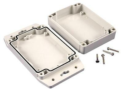 "Enclosures & 19"" Cabinet Racks - Enclosures - BOX ABS FLANGED LID IP66"