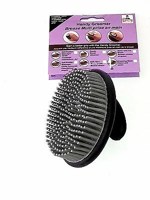 Handy Groomer Soft Rubber Massager  Equerry