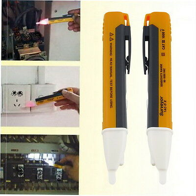 LED Light AC Electric Voltage Tester Volt Test Pen Detector Sensor 90~1000V G7