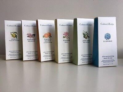 Crabtree & Evelyn Hand Therapy Cream 50g - all varieties