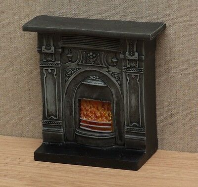 1:12 Dolls House Victorian fireplace
