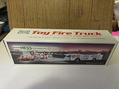 1989 Hess Toy Fire Truck  NIB