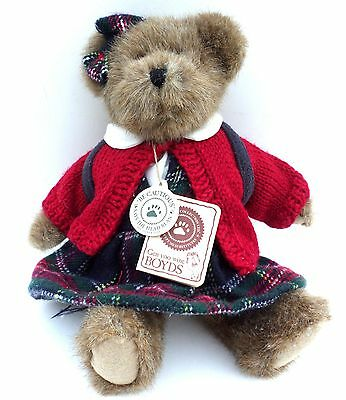 Boyds Bear Betty B. Learnin #903103 Best Dressed Collection