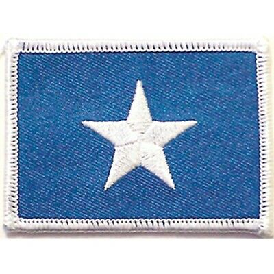 CIVIL WAR BONNIE BLUE CONFEDERATE FLAG PATCH Embossed Sew On PATCH New # 12110