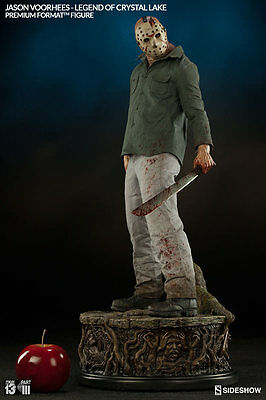Jason Voorhees Part 3 Friday the 13th Horror 1/4 Premium Format Statue Sideshow