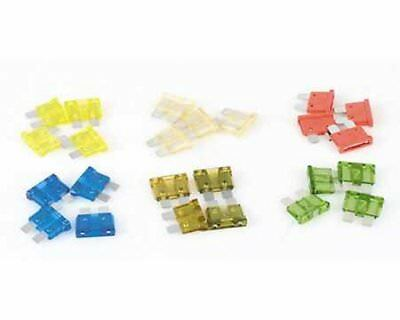 Plug fuse / flat fuse yellow, 20 A, 10-pack
