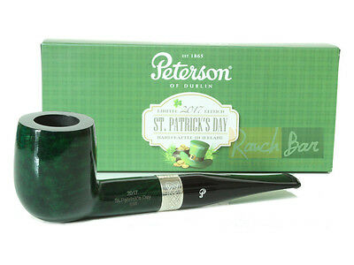 Peterson - St. Patrick's Day 2017 - 106 Pfeife - grün - 9mm Pipa Pipe