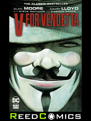 V FOR VENDETTA GRAPHIC NOVEL New Paperback by Alan Moore (288 PAGES)