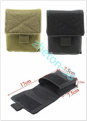 Molle Tactical Cigarette Pouch EDC 1000D Utility Cigar Waist Pack FOR Hiking