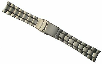 TRASER Luminox TITANIUM 22mm WATCH BAND Strap SOLID END LINKS 31,3200 3400 3600