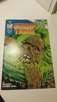 Swamp Thing #67.    (Vfnm)     ~Hellblazer Preview~   First Print.    1987
