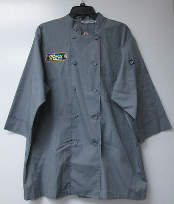 Chef Works Basic 3/4 Sleeve Chef Coat -USED