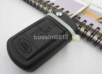 Sport Flip Remote Key Case Fob 3 BTN fit for LAND ROVER LR3 Range RoverUK
