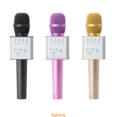 Wireless Bluetooth Karaoke Mic Player Speaker KTV Microphone K088 Delicate