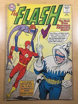 DC Comics THE FLASH (Feb 1963) #134 SILVER AGE Capt Cold GD/VG (3.0) Ships FREE!