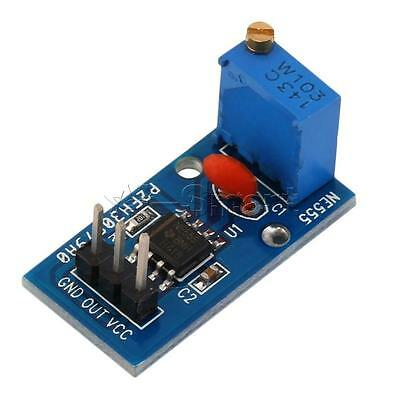 2PCS NE555 Adjustable Frequency Pulse Generator Module For Arduino Smart Car New