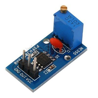 2PCS New NE555 Adjustable Frequency Pulse Generator Module For Arduino Smart Car