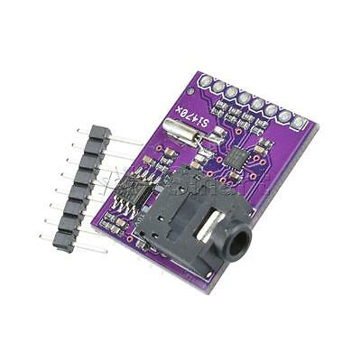 New Breakout Board Si4703 FM RDS Tuner For AVR ARM PIC Arduino Compatible