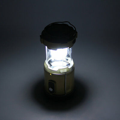 Rechargeable Solar Powered Camping Lantern Night Light Hiking Lamp Torch OP