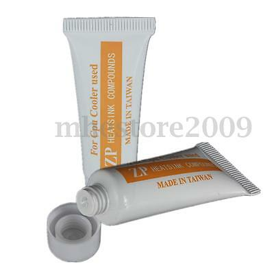 22g Thermal Grease Paste Compound For CPU Fan Heatsink Glue  Cooler Cooling Tube